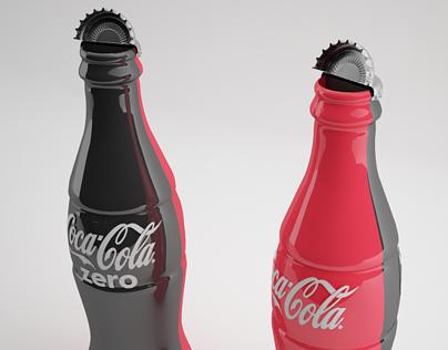 CocaCola/CocaCola Zero/ Mismo sabor en una botella