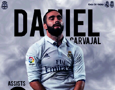 carvajal 33 Assists in all time😍
