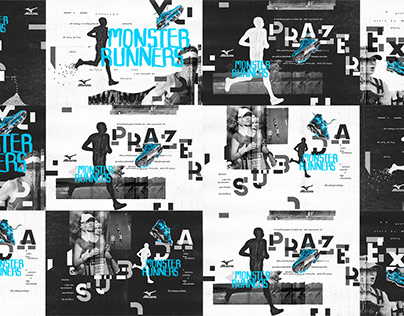 MIZUNO   MONSTER RUNNERS