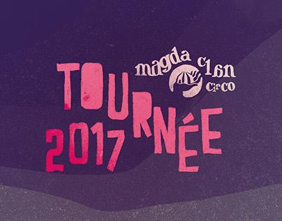 Magda clan - Tournée 2017