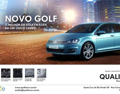 Anúncio Novo Golf