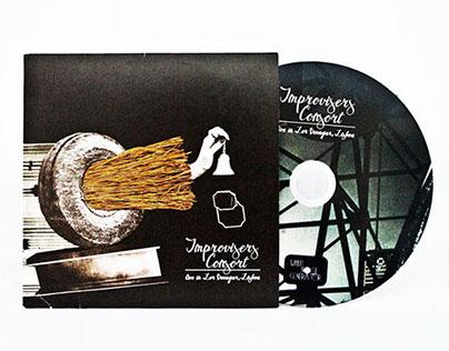 IMPROVISERS CONSORT  | cd graphics