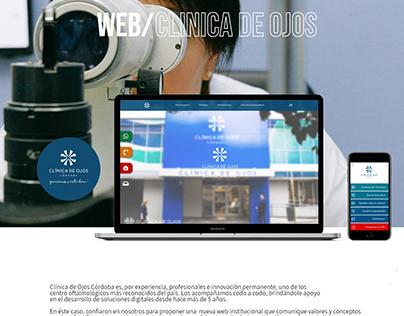 Web Clinica de Ojos Córdoba