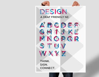NZ Sign Language Poster