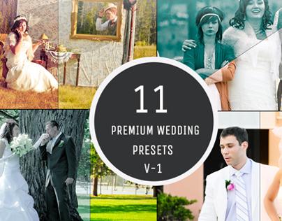 11 Premium Wedding Photography Presets