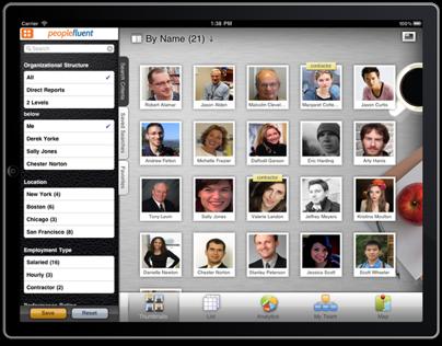 Mobile Talent Management app