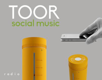 Toor/Radio y altavoz bluetooth