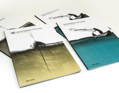 UNU Annual Report Cover Illustrations