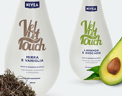 Velvet Touch - Oli da massaggio Nivea