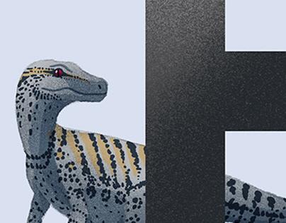 The Dinosaur Alphabet (WIP)
