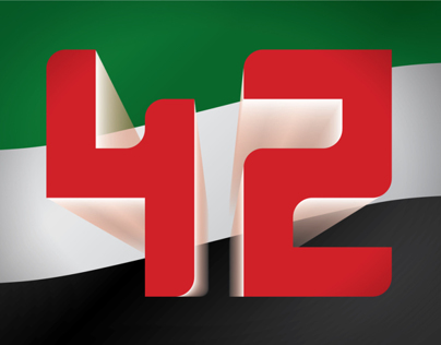 UAE National Day Concept