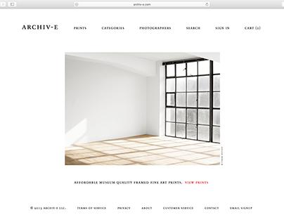 Archiv-e Website
