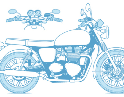 "Illustrations for ""The Total Motorcycle Manual"""
