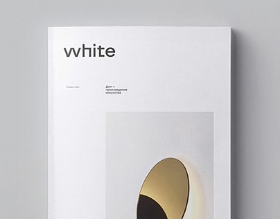 white – booklet, identity
