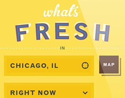 What's Fresh
