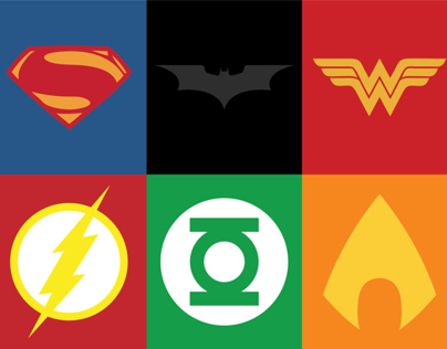 Justice League Minimalist Posters