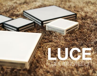 LUCE - Design It Yourself lamp with touch sensor