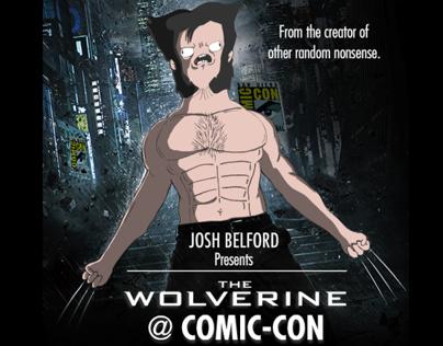 Wolverine at Comic-Con
