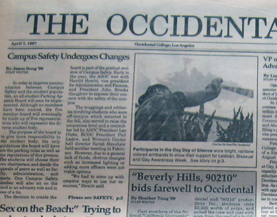 The Occidental, April 7, 1997