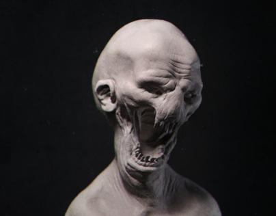 Alien/Monster Maquette Study 02