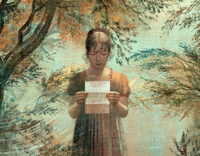 Pride and Prejudice by J. Austen - WINNER CA 55th
