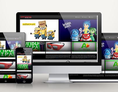 CPM Cinemas Website