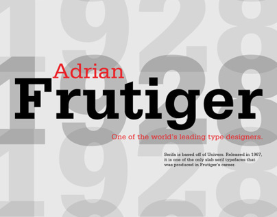 Influential Typographer