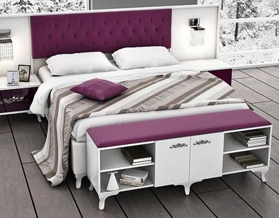 Valentin Avangarde Yatak Odası Evgör Mobilya