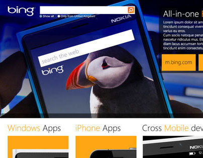 Discoverbing - Microsite