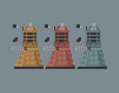 Doctor Who Pixels // (wip)