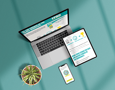 YPAD - Landing Page