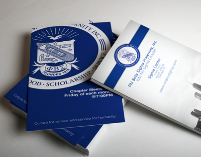 PBS- Iota Nu Sigma Chapter business cards