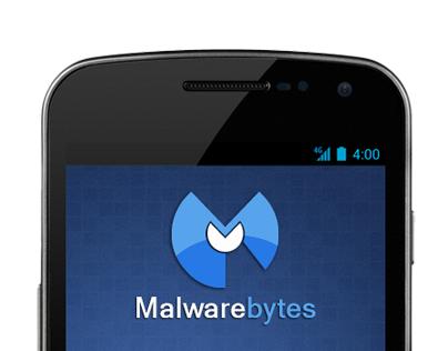 Malwarebytes Mobile UI