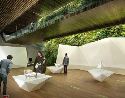 Pinggu Urban Planing Exhibition Center 6th Proposal