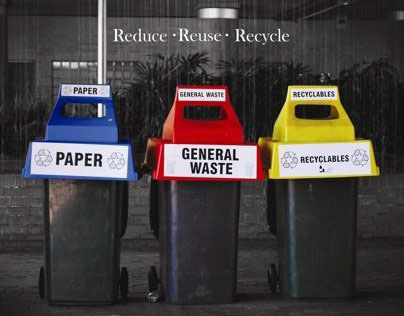"""""""Reduce; Reuse; Recycle"""" Photograph"""