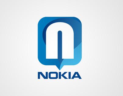 Nokia redesign logo