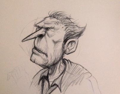 Pencil Faces