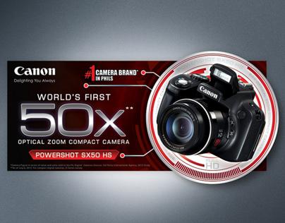 CANON POWERSHOT SX50 HS WOBBLER