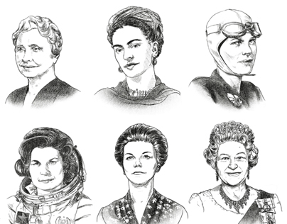 Famous female Characters for Ponds