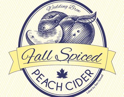 Fall Spiced Peach Cider
