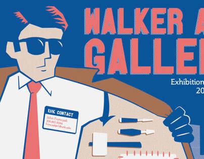 Walker Gallery Poster