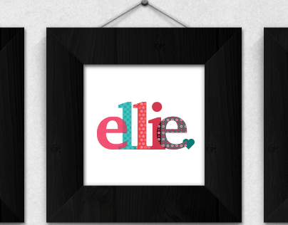 Personalized Logo for Ellie