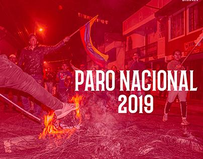 PARO NACIONAL 2019 ECUADOR