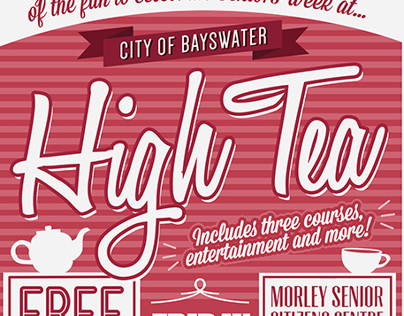 Bayswater Seniors Week // Poster