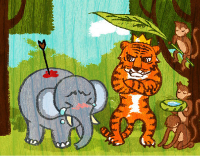 The Foolish Tiger - Balinese Folklore