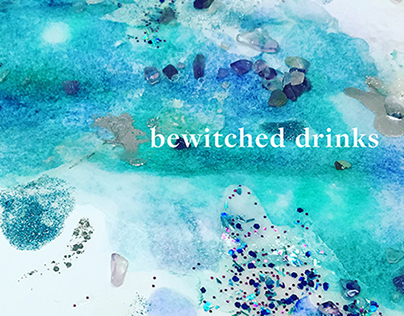Bewitched Drinks, Book Cover and Interiors