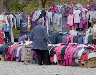 Open Market Slavonski Brod, Croatia