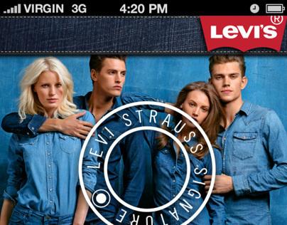 Prototype app Levis