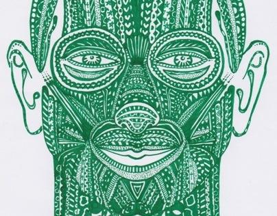 Human in Green