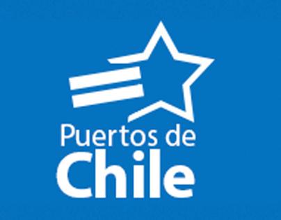 Diseño logo de mi proyecto Puertos de Chile